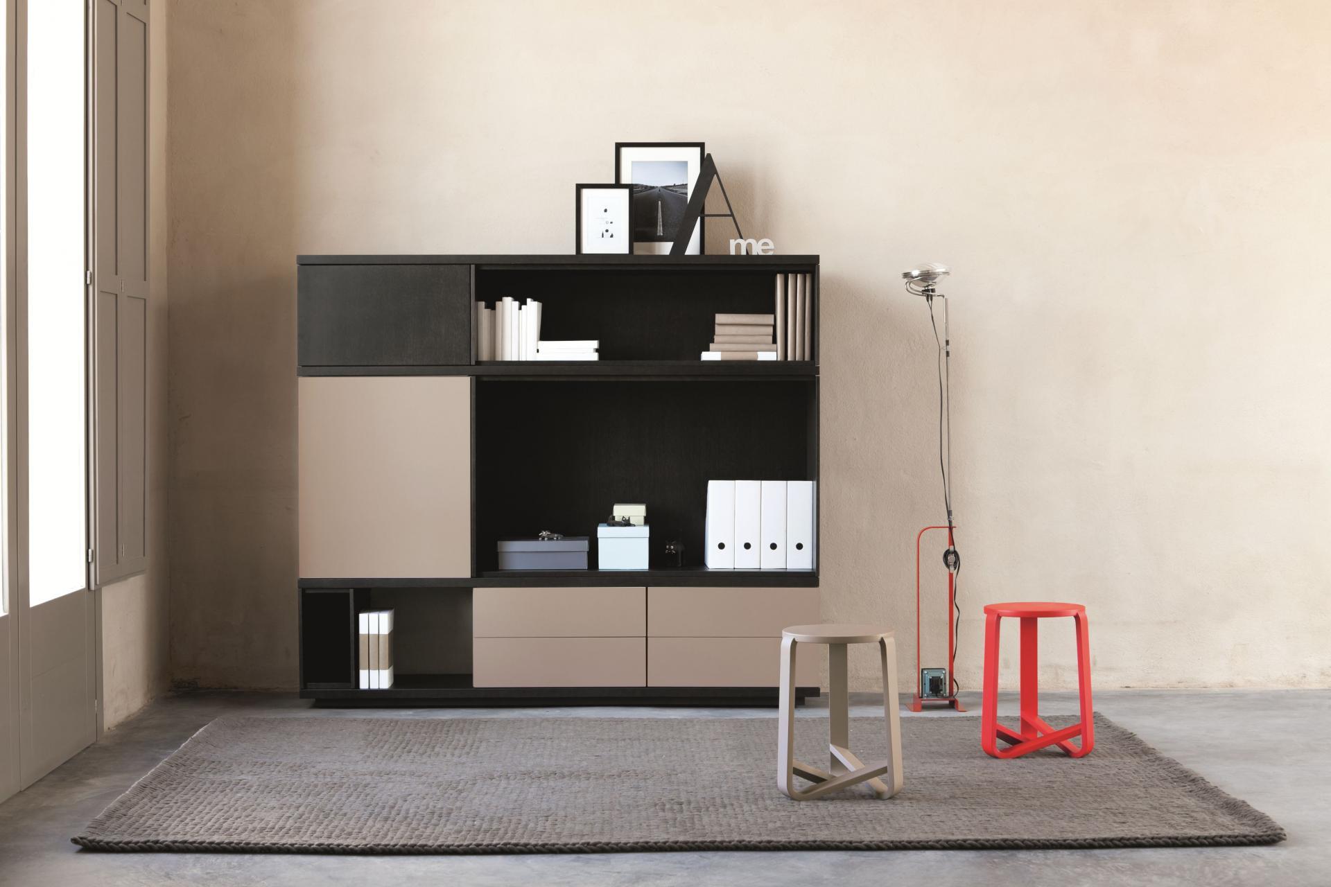 Mueble tv con marco